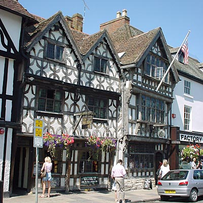 Harvard House in Stratford-upon-Avon - not for sale