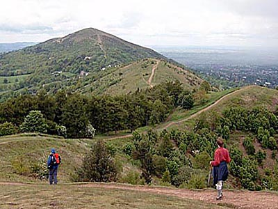 Walking in the The Malvern Hills
